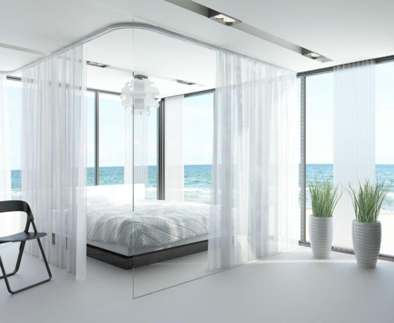 gardinenschiene vorhangschienen goelst g rail f r vorh nge goelst. Black Bedroom Furniture Sets. Home Design Ideas